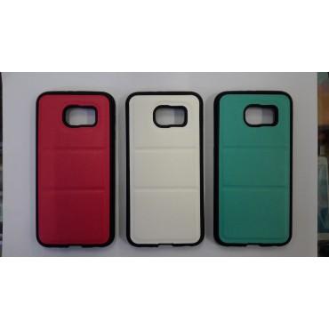 Samsung g920 Galaxy S6 silikoon / nahk hübriidkorpus