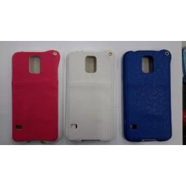 Samsung g900 / g903 Galaxy S5 / S5 neo silikoon / nahk hübriidkorpus