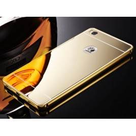 Huawei P8 Lite metall-peegel tagaosa kuldne