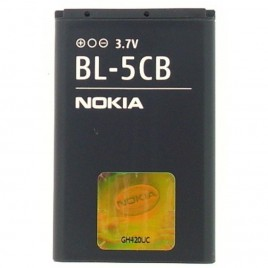 Nokia BL-5CB originaalaku 800 maH (Nokia 100 / X2-05 / C1-01)