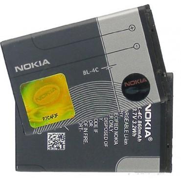 Nokia BL-4C originaalaku 860 maH (Nokia 6100 / 6300 / 5100 )