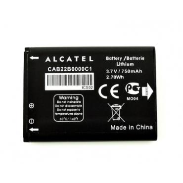 Alcatel CAB22B0000C1 originaalaku 750 maH ( Alcatel 1010D, 1030D, 2012G)