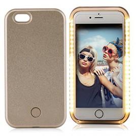 Apple Iphone 6 / 6s Selfie Case powerbank 1800 maH kuldne