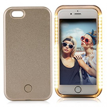 Apple Iphone 6 / 6s Selfie Case powerbank 1800 maH kuldne