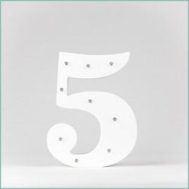 Number 5 LED