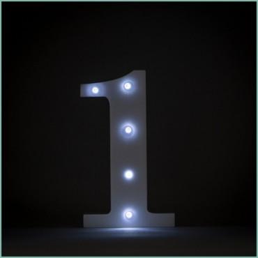 Number 1 LED
