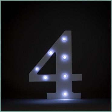 Number 4 LED