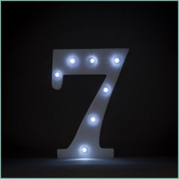 Number 7 LED