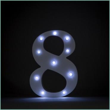 Number 8 LED