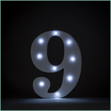 Number 9 LED