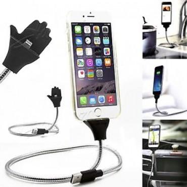 Telefoni Hoidja / Iphone 5/5s/SE/6/6s/7/8/X Laadija metallist