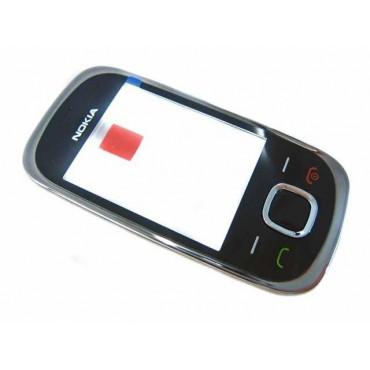 Nokia 7230 esikorpus koos nuppudega must
