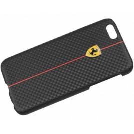 Apple Iphone 6 / 6S Ferrari tagakorpus FEFOCHCP6BL karbon