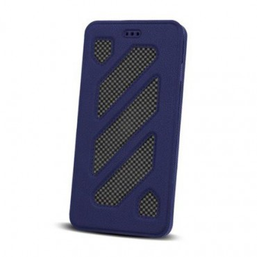 Samsung J3 (2017) / J330 Smart Solid Book kaitsekott sinine