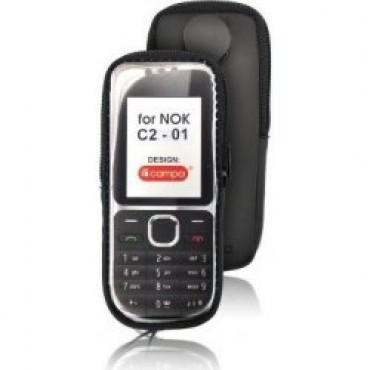 Nokia C2-01 lukuga kaitsekott must