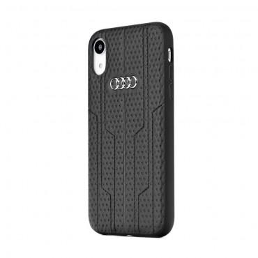 Apple Iphone 7 Plus / 8 Plus Audi originaal silikoonkaitse must nahk