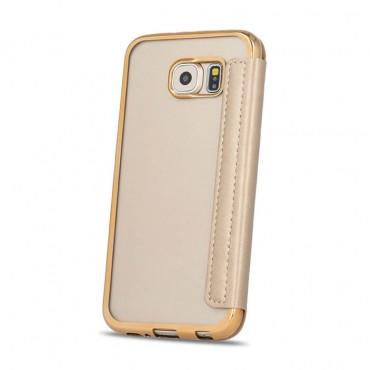 Huawei P8 Lite Beeyo Book Glamour kaitsekott kuldne