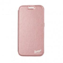 Huawei P10 Lite Beeyo Book Glamour kaitsekott roosa-kuldne