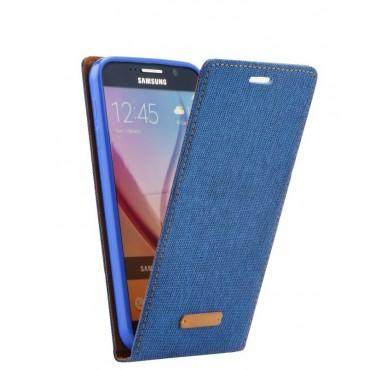 Apple Iphone 7 / 8 Canvas allaavanev kaitsekott sinine