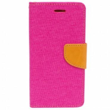 Huawei Honor 7 Canvas küljele avanev kaitsekott roosa