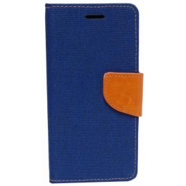 Apple Iphone 5 / 5s / SE canvas kaitsekott tumesinine