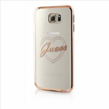 Samsung G930 Galaxy S7 Guess originaal tagakorpus GUHCS7TRHG läbipaistev
