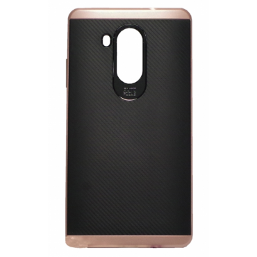 Huawei Mate 8 Carbon case must/roosa