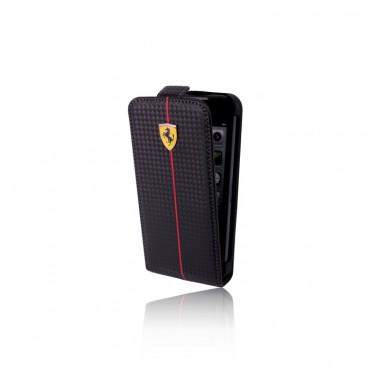 Apple Iphone 5 / 5s / SE Ferrari kaitsekott karbon FEFOCFL5BL