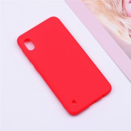 Samsung A10 / a105f silikoonkaitse matt punane