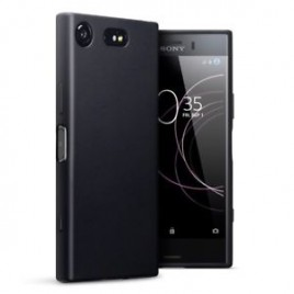 Sony Xperia XZ1 Compact silikoonkaitse matt must