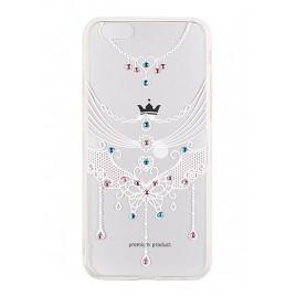 Huawei P8 Lite Vennus Art silikoonraam plastiktagusega Pink Eagle