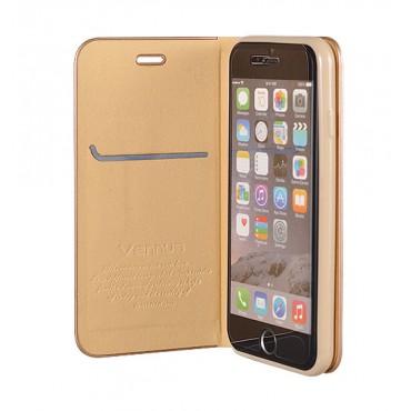 Samsung A40 / a405f Vennus Book magnetiga kaitsekott kuldne