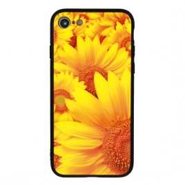 Apple Iphone XR Vennus Glass silikoonraam plastiktagusega Daisy