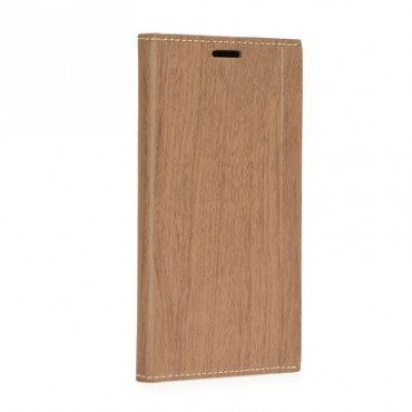 Samsung X-Cover 4 / G390 Wood Book kaitsekott