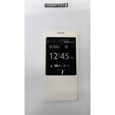 Huawei Honor 4x Küljepeale avanevad kaaned aknaga valge