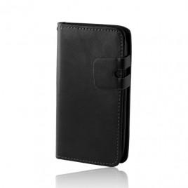 Samsung i9195 Galaxy S4 mini Smart Plus kaitsekott must