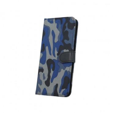 Samsung S7 / G930 Smart Army Book kaitsekott sinine
