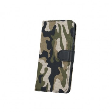 Samsung X-cover 4 / G390 Smart Army Book kaitsekott roheline