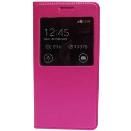 Samsung G530 / G531 Galaxy Grand Prime aknaga küljele avanevad kaitsekaaned roosa