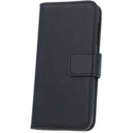 LG Leon H340N / H320 nahast book kaitsekott must