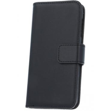 Nokia 520 Lumia nahast book kaitsekott must
