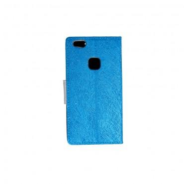 Huawei P8 Lite Fancy Shine Kaitsekott helesinine