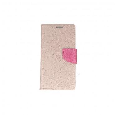 Samsung J3 (2017) / J330 Fancy Shine Kaitsekott roosa