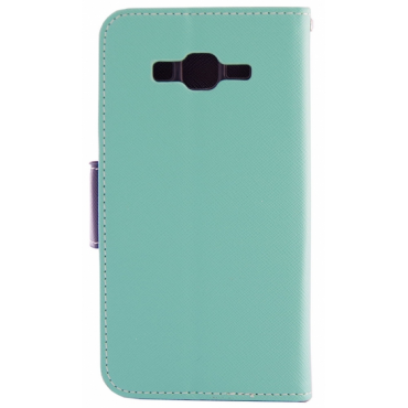 Samsung A6 (2018) / A600 Fancy Küljele Avanev Kott Laimiroheline
