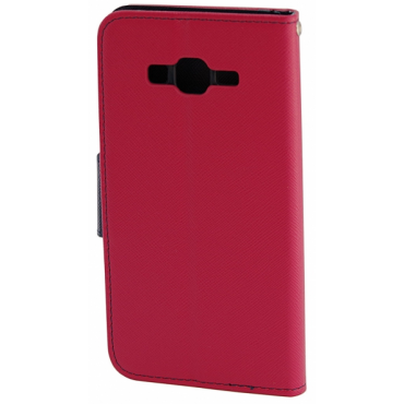 Sony Xperia L1 Fancy Küljele Avanev Kott Punane