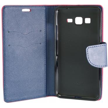 Samsung S10 / G973 Fancy Küljele Avanev Kott roosa