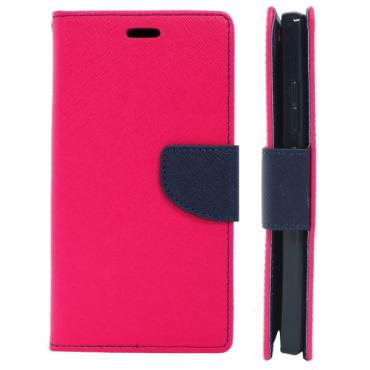 Samsung S8 / G950 Fancy Küljele Avanev Kott roosa