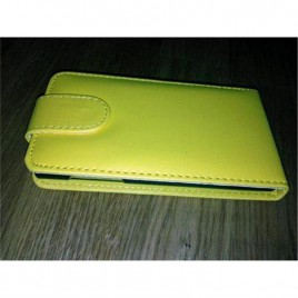 Sony Xperia Z1 Allaavanev plastikraamiga Kaitsekott kollane