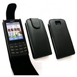 Nokia X3-02 allaavaneva klapiga kaitsekott must