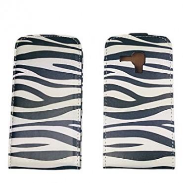 Nokia 520 Lumia Allaavanev plastikraamiga Kaitsekott Zebra